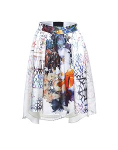 Cynthia Rowley High Low Twill Skirt.  I like the whimsy of this.