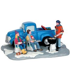 Coventry Cove by Lemax Christmas Village Accessory, Tailgate Party
