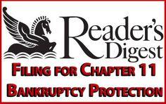 Reader's Digest Seeks Chapter 11 Bankruptcy Protection