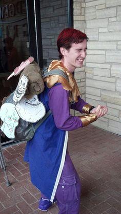 OMG! Happy mask salesman from Zelda Majora's Mask...with a twist! - Imgur
