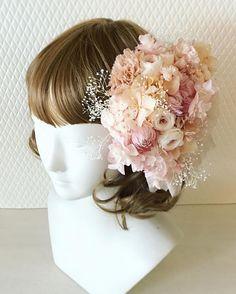 Headdress for bride  #ヘッドドレス #headdress #ブライダルヘアメイク #ナチュラルウェディング #ヴィンテージウェディング #ブライダル #結婚式 #結婚準備 #プレ花嫁 #ブーケレッスン #ブーケワークショップ #ヘッドドレス #プリザーブドフラワー #プリザーブドフラワーレッスン #プリザーブドフラワーブーケ #ウェディングアクセサリー #ドライフラワー #ドライフラワーブーケ#wedding #bridal  #lesfavoriswedding#shimokitazawa