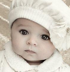 Gorgeous little baby ... a future heart breaker.