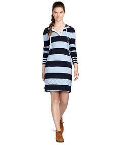 Cotton Hoodie Dress | Brooks Brothers