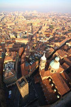 San Petronio and Bologna, Italy