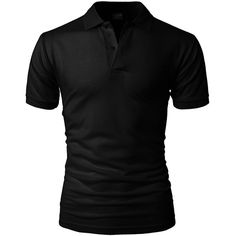 H2H Mens Casual Slim Fit Basic Designed Short Sleeve Plain Button Up... ($17) ❤ liked on Polyvore featuring men's fashion, men's clothing, men's shirts, men's polos, mens slim fit button down shirts, mens polo shirts, mens slim shirts, mens polo button down shirts and mens short sleeve shirts