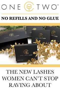 No Refills And No Glue - The New Lashes Women Can't Stop Raving About
