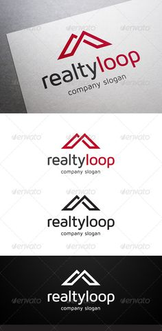 Buy Realty Loop Logo by flatos on GraphicRiver. Description Realty Loop Logo is a multipurpose logo. This logo that can be used by realty, real estate companies, hom. Logos, Logo Branding, Logo Design Template, Logo Templates, Logo Inspiration, Tent Logo, Construction Company Logo, Office Logo, Good Advertisements