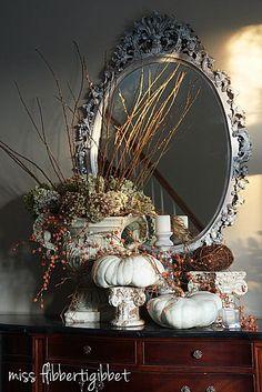 more autumn decorating