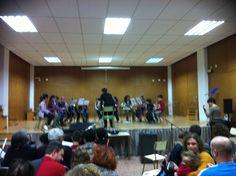 Alumnes de 1r de Conjunt Instrumental de la professora Isabel García (21-3-2013).