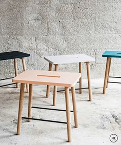 Scandi inspired pick me stool from Urbaani Homewares.