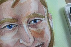 Learn the Basic Steps of Watercolor Portrait Painting Posted by Sara Barnes // JUN 28, 2015