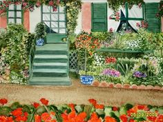 Monet's home in Givenry