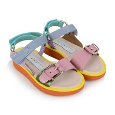 Stella McCartney Girls Multi-Coloured Snazzy Sandals - New Arrivals