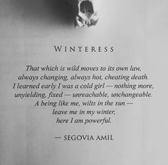 Winteress - Segovia Amil