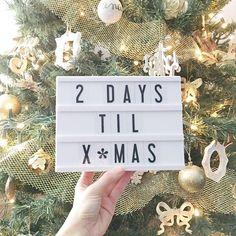 Shop all cinema lightbox sizes and colors. We carry the largest range of lightbox sizes and colors! Days Till Christmas, Christmas Hanukkah, Christmas Countdown, Christmas And New Year, Christmas Lights, Mini Lightbox, My Cinema Lightbox, Light Board, Led Light Box