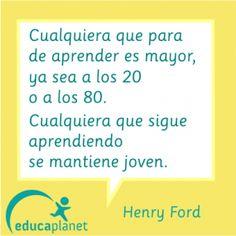 Henry Ford Aprender Citas