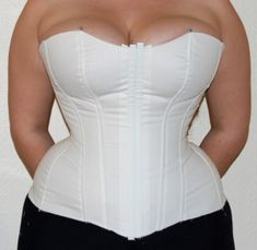 Excellent article regarding sewing corsets and the alterations needed for a larger bust.