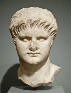 Marble Portrait of Emperor Nero, Worcester Art Museum.