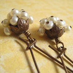 Cute use of bead caps
