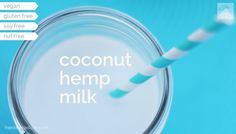 Coconut Hemp Milk //