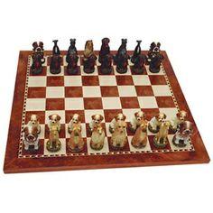 Dog Chess Set