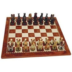 Dog Chess Set