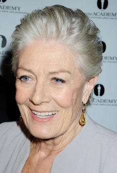 Vanessa Redgrave at the Academy of Motion Picture Arts and Sciences - beautiful makeup by Lisa Eldridge.