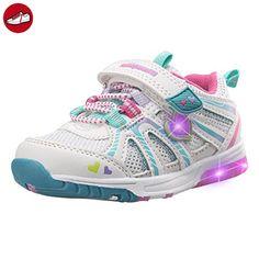 (Present:kleines Handtuch)Schwarz EU 44, Unisex USB Sneakers Leuchten JUNGLEST® Sportschuhe Farbe Fluoresce