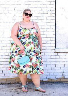 plus size lani-wrap-dress