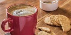 Homemade Italian Coffee Cappuccino and cookies biscuits #coffee #cookies #homemade #food #cappucci