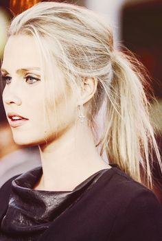 i say she needs to be clena if they ever make the movie :3 The Vampire Diaries | Claire Holt