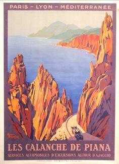 Les Calanches de Piana (Corse ) ca. 1923