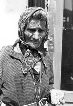 Warsaw Ghetto, Poland, An elderly woman in the ghetto. She did not survive