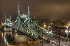 Liberty bridge - Budapest ( Hungary )