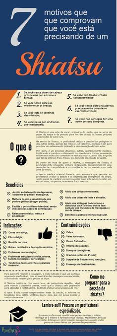 Infográfico: 7 motivos de que você precisa de shiatsu