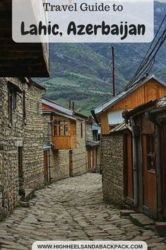 Travelling to Lahic, Azerbaijan. A first hand account of travelling through the isolated mountain village of Lahic, central Azerbaijan with practical information on how to plan your own trip there. Azerbaijan Travel, Baku Azerbaijan, Travel Around The World, Around The Worlds, Mountain Village, China Travel, Travel Goals, Cool Places To Visit, Trip Planning