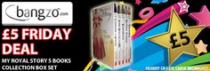 My Royal Story Royal Collection 5 Books Box Gift Set Pack