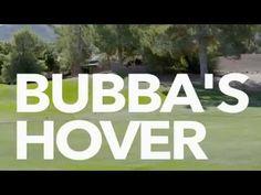 Bubba Watson Golf HoverCraft