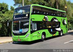 (Brasil) Ônibus da empresa Parque Nacional do Iguaçu, carro JACUTINGA, carroceria Marcopolo Viale DD Sunny 2013, chassi Volvo B215LH. Foto na cidade de Foz do Iguaçu-PR por Ricardo Monteiro, publicada em 22/02/2014 11:06:27.