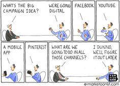 Marketoonist - we're going digital - Tom Fishburne