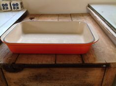 Large Vintage Le Creuset Rectangular Roasting by Onmykitchentable, £45.00