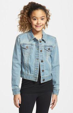 Tucker + Tate Denim Jacket (Little Girls & Big Girls)(Online Only) available at #Nordstrom