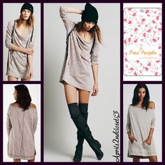 Free People Tops - Free People Tunic Pocket Pullover