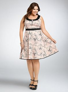 11a6e1b6fb6 Disney Aristocats Graphic Skater DressDisney Aristocats Graphic Skater Dress