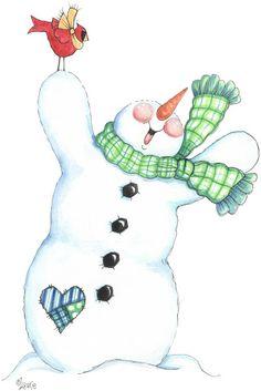 Penguins and friends - Laurie Furnell - puntoceleste - Picasa Web Albums Snowman Clipart, Christmas Clipart, Christmas Signs, Christmas Printables, Christmas Pictures, Christmas Snowman, Vintage Christmas, Christmas Crafts, Winter Clipart