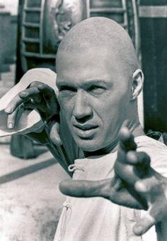 David Carradine a.k.a grasshopper in Kung Fu.