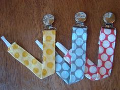 Pacifier Clip  Universal Clip for Baby by kadydiddesigns on Etsy, $4.75