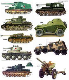 Tanques-veículos-guerra-war