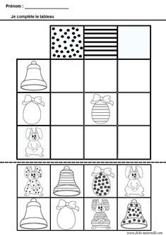 Crafts,Actvities and Worksheets for Preschool,Toddler and Kindergarten.Free printables and activity pages for free.Lots of worksheets and coloring pages. Easter Worksheets, Easter Activities, Activities For Kids, Sorting Activities, Preschool Graphs, Preschool Worksheets, Diy For Kids, Crafts For Kids, Games