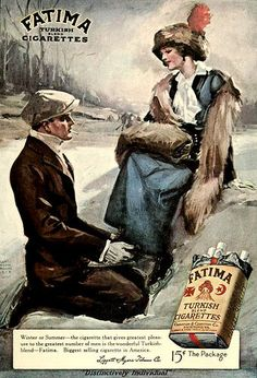 Vintage Ad for Fatima Cigarettes, March 1913 | Flickr - Photo Sharing!